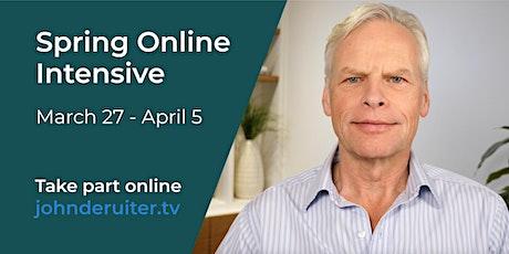 Spring Online Intensive with John de Ruiter tickets