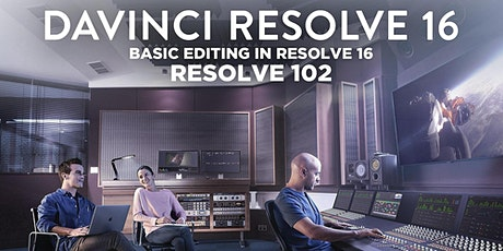 Basic Editing in Resolve 16 (Online) tickets
