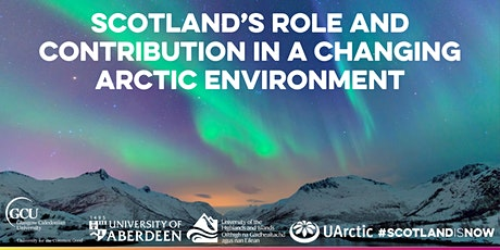 Scotland-Arctic Network Series: Sustainable Economic Growth/Blue Economy tickets