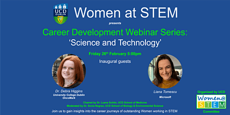 "Career Development Webinar Series : 'Science and Technology"" tickets"