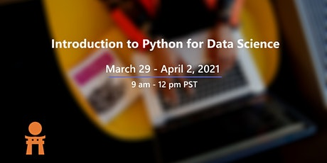 Introduction to Python for Data Science tickets