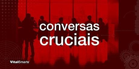 Treinamento Conversas Cruciais Online - 06 e 07 de Abril de 2021 ingressos