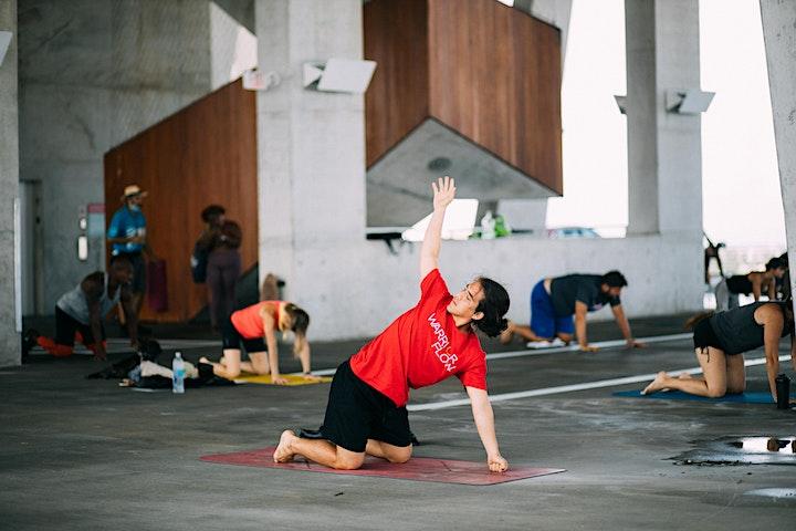 Warrior Flow Yoga Sundays at 1111 image