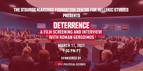 Deterrence: A Film Screening and Interview with Roman Gerodimos tickets