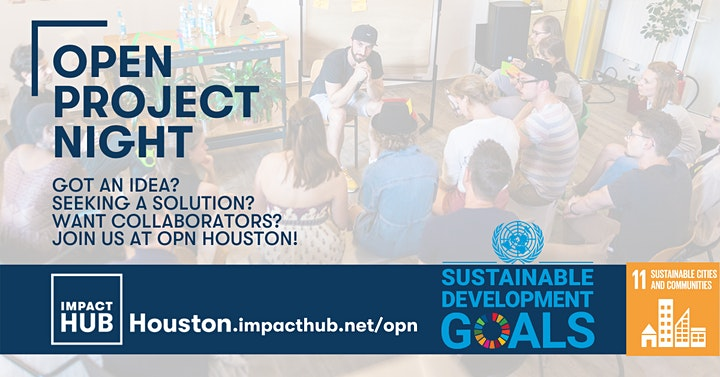 Open Project Night: Building an Equitable, Inclusive and Resilient Houston image