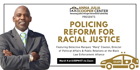 Police Reform and Racial Justice tickets