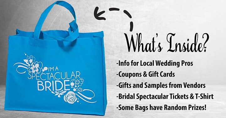 """Spectacular Weddings Pop Up Event - """"Bridal Show in A Bag"""" March 6 & 7 image"""