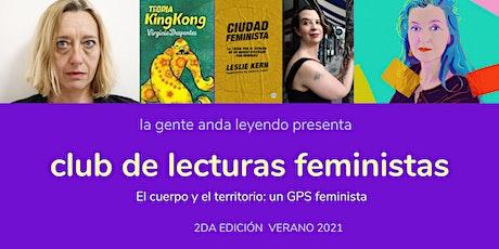 CLUB DE LECTURAS FEMINISTAS LA GENTE ANDA LEYENDO edición verano entradas