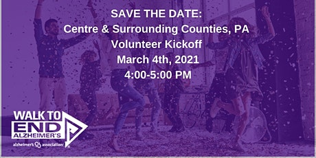Centre & Surrounding Counties PA  Volunteer Kickoff tickets