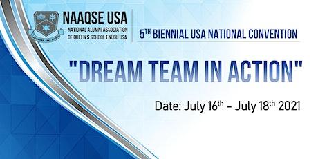 """Dream Team In Action"" - NAAQSE USA 5th Biennial USA National Convention tickets"