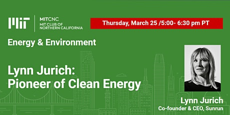 Lynn Jurich: Pioneer of Clean Energy tickets