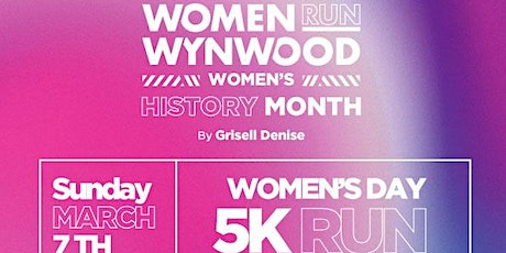 Women RUN Wynwood - Women's HISTORY Month 5K RUN tickets
