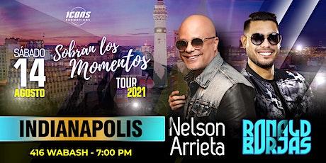 """""""Sobran los Momentos"""" con Nelson Arrieta y Ronald Borjas tickets"""