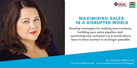 Maximising Sales in a Disrupted World tickets
