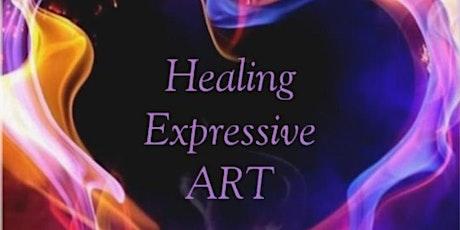 Full Moon Expressive Art Journaling via Zoom tickets