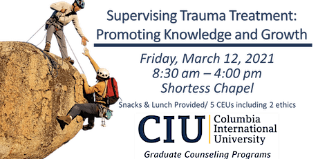 Supervising Trauma Treatment:  Promoting Knowledge & Growth tickets