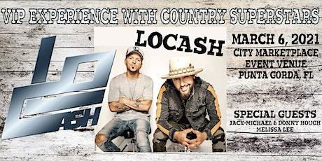 LOCASH- VIP Concert- Punta Gorda, FL tickets