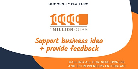 1 Million Cups   March 2021 tickets