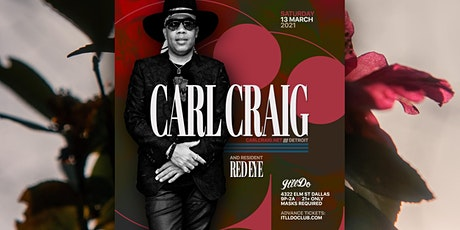 Carl Craig at It'll Do Club tickets