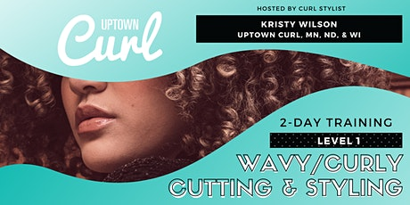 Level 1: Wavy/Curly Cutting and Styling Introduction tickets