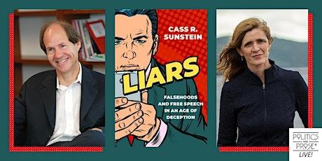 P&P Live!  Cass R. Sunstein | LIARS with Samantha Power tickets