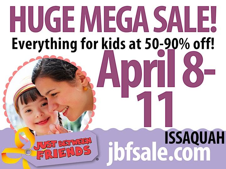 Huge Kids Consignment Pop-Up Shop! JBF Issaquah Spring 2021 image