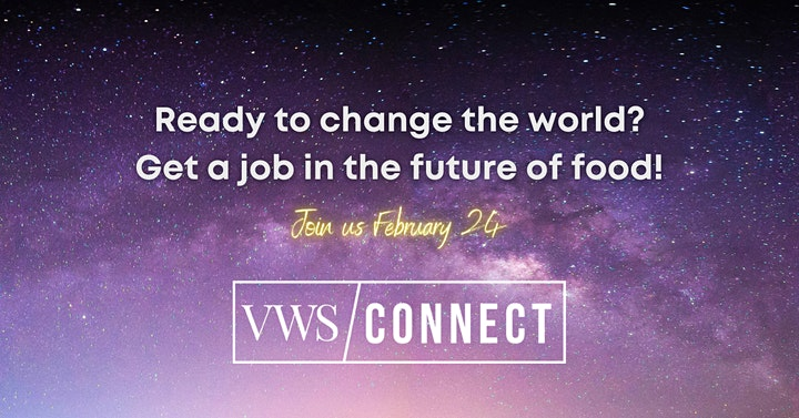 VWS Connect: Future of Food Virtual Job Networking image