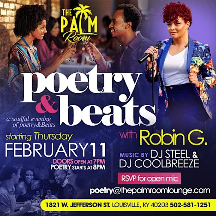 Poetry & Beats with Robin G. image