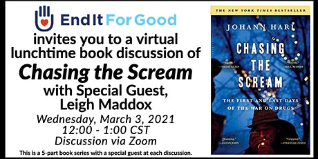 Chasing the Scream 5-Part Book Discussion - with Special Guest Leigh Maddox tickets