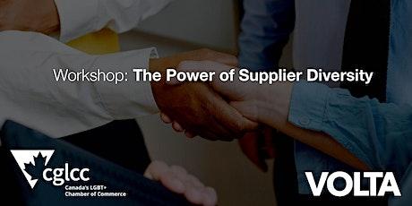 Workshop: The Power of Supplier Diversity tickets