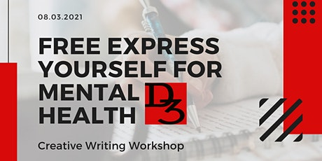 Express Yourself For Mental Health FREE Online Creative Writing Workshop tickets