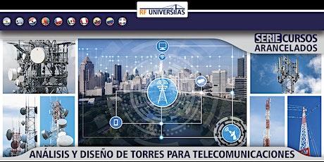 Análisis y diseño de torres para telecomunicaciones - USD boletos