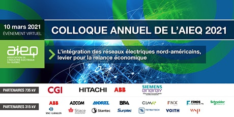 AIEQ - Colloque de l'AIEQ 2021 billets