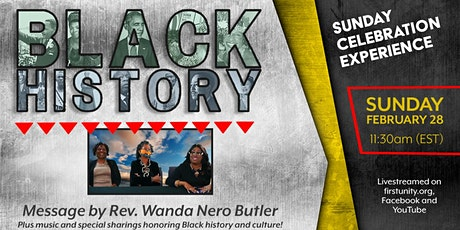 Black History Celebration Service at First Unity Spiritual Campus tickets