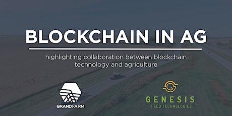 Blockchain in Ag tickets