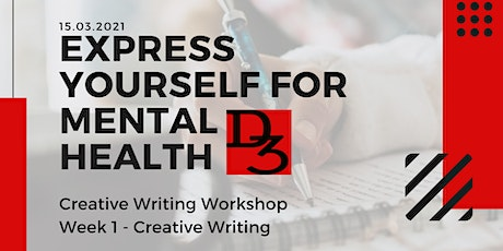 Express Yourself For Mental Health - Creative Writing tickets