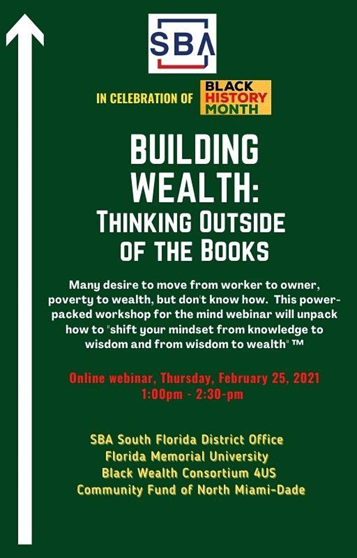 Building Wealth: Thinking Outside the Books image
