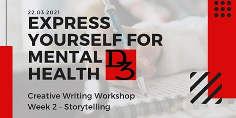 Express Yourself For Mental Health - Storytelling tickets