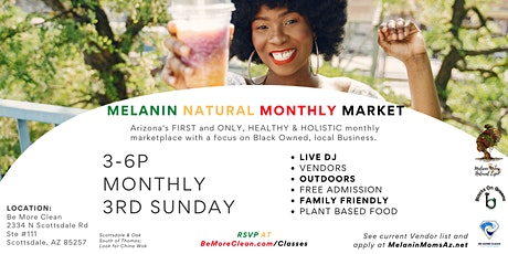Melanin Natural Monthly Market tickets
