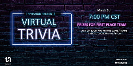 Trivia Night - Virtual Teen Fundraiser tickets