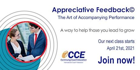 "Appreciative Feedback ""The  Art of Accompanying Performance"" tickets"