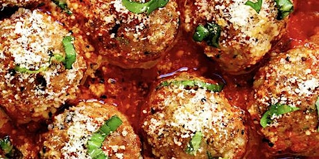 Meatballs, Traditional AND Ricotta, with Marinara tickets