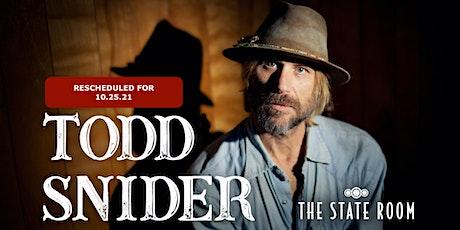 Todd Snider tickets