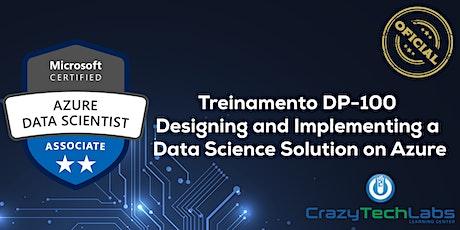Treinamento DP-100 Data Science Solution on Azure - Oficial boletos
