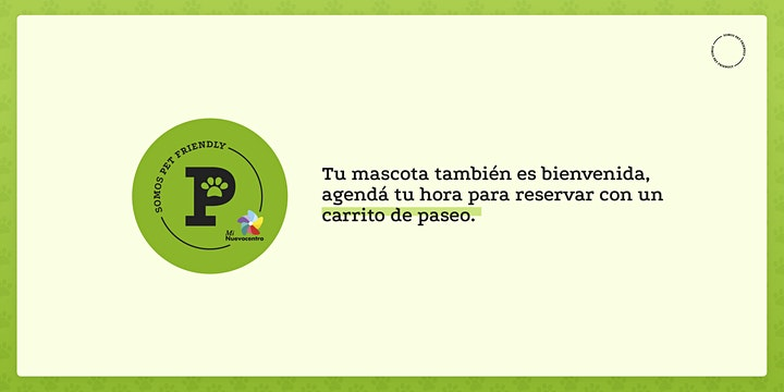 Imagen de Reserva gratis online de carritos Pet Friendly.