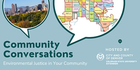 Community Conversations- Environmental Justice in Your Community tickets
