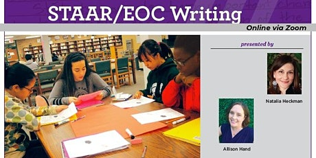 Moving English Learners Forward on the STAAR/EOC Writing - October 28, 2021 tickets