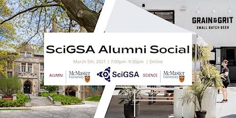 SciGSA Alumni Social tickets