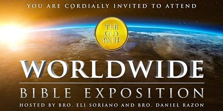 ONLINE Worldwide Live Bible Exposition -  Ask your questions FREE Tickets