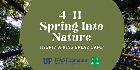 4-H Spring Into Nature Camp tickets